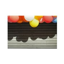 Colorful balloons, Tokyo Rectangle Magnet