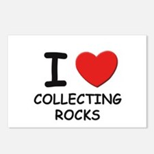 I love collecting rocks  Postcards (Package of 8)