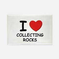 I love collecting rocks Rectangle Magnet