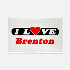 I Love Brenton Rectangle Magnet