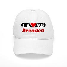 I Love Brendon Baseball Cap