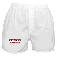 I Love Brendon Boxer Shorts