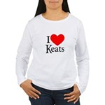 I Love Keats Women's Long Sleeve T-Shirt