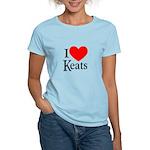 I Love Keats Women's Light T-Shirt