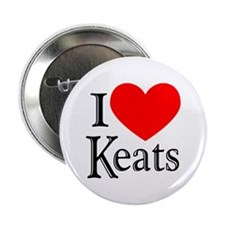 I Love Keats Button