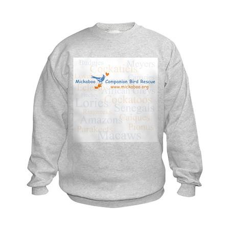 Background Species Kids Sweatshirt