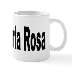 I Love Santa Rosa Mug