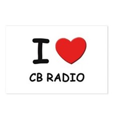 I love cb radio  Postcards (Package of 8)