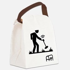 Metal-Detecting-AAA1 Canvas Lunch Bag