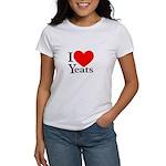 I Love Yeats Women's T-Shirt