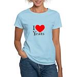 I Love Yeats Women's Light T-Shirt