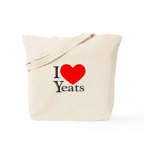 I Love Yeats Tote Bag