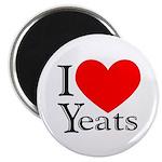 I Love Yeats Magnet
