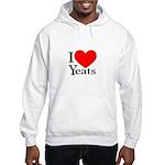 I Love Yeats Hooded Sweatshirt