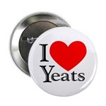 I Love Yeats Button