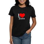 I Love Yeats Women's Dark T-Shirt
