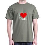I Love Yeats Dark T-Shirt