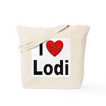 I Love Lodi Tote Bag