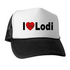 I Love Lodi Trucker Hat
