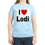 I Love Lodi (Front) Women's Light T-Shirt