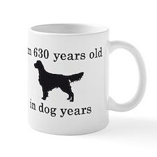 90 birthday dog years golden retriever 2 Mugs