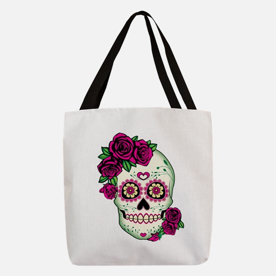 Unique Skulls Polyester Tote Bag