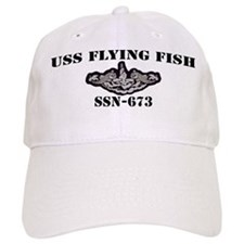USS FLYING FISH Baseball Cap