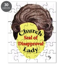 Church Lady SEAL OF DISAPPROVAL Puzzle