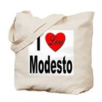 I Love Modesto Tote Bag