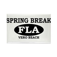 Spring Break Vero Beach, Flor Rectangle Magnet