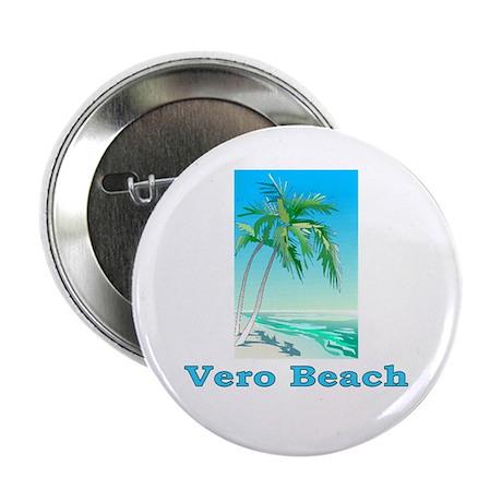 "Vero Beach, Florida 2.25"" Button (10 pack)"