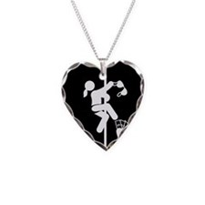Pole-Dancing-AAB1 Necklace Heart Charm