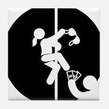 Pole-Dancing-AAB1 Tile Coaster
