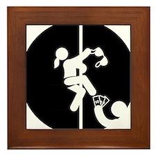 Pole-Dancing-AAB1 Framed Tile
