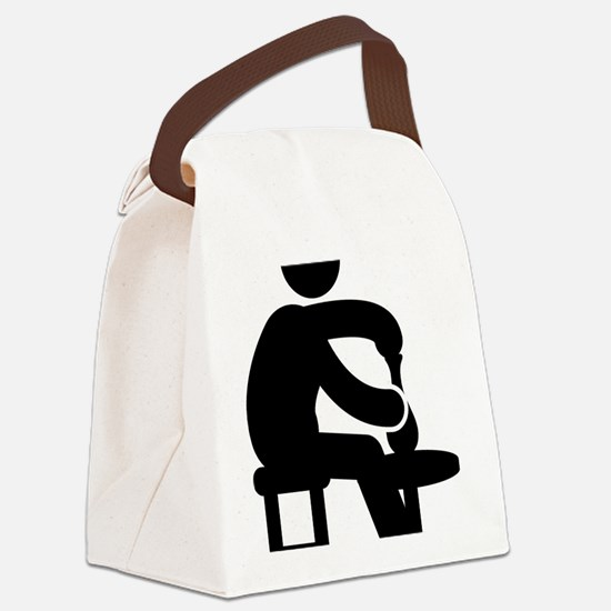 Pottery-AAA1 Canvas Lunch Bag