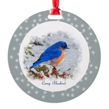 Bluebird Ornament