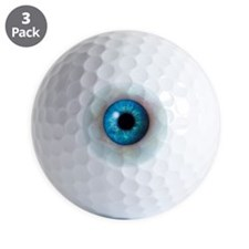 Eyeball Golf Ball