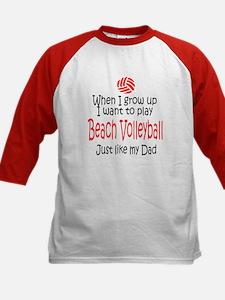 WIGU Beach Volleyball Dad Tee