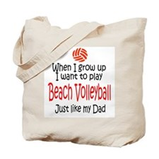 WIGU Beach Volleyball Dad Tote Bag