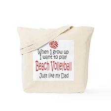 WIGU Beach Volleyball Dad Tote Bag
