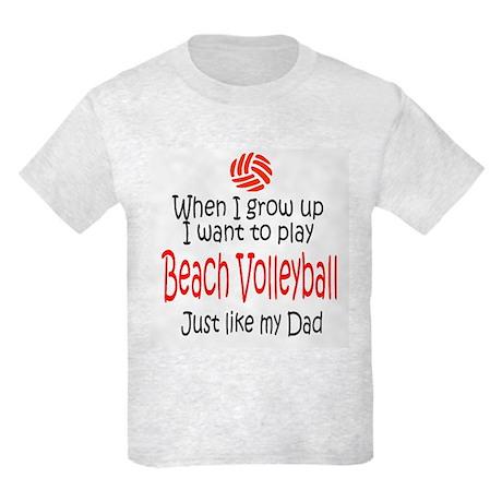 WIGU Beach Volleyball Dad Kids Light T-Shirt