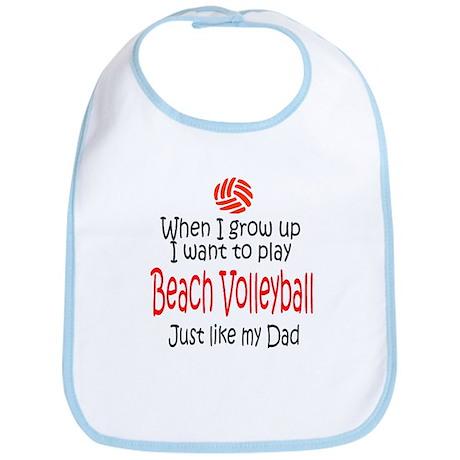 WIGU Beach Volleyball Dad Bib