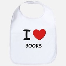 I love books  Bib