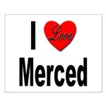 I Love Merced Small Poster