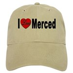 I Love Merced Cap