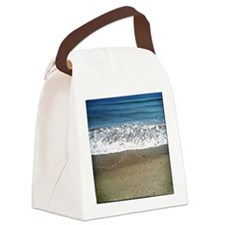 Shore in beach Canvas Lunch Bag