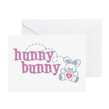 Hunny Bunny Baby Greeting Cards (Pk of 10)