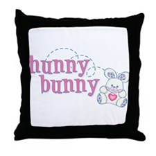 Hunny Bunny Baby Throw Pillow