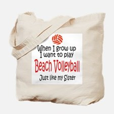 WIGU Beach Volleyball Sister Tote Bag