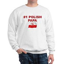 #1 Polish Papa Sweatshirt